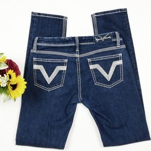 """Vigoss """"The Pacific"""" Skinny Jeans. Size 3/4 (27)"""